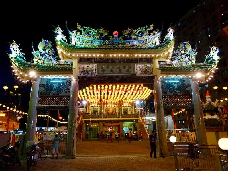 Nine Emperor Gods temple in Penang