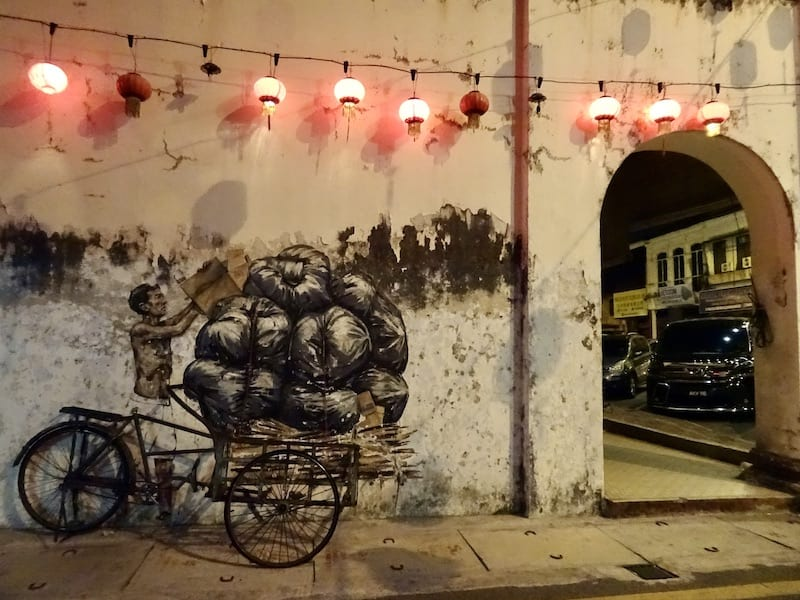 Street art Ipoh Places to visit in Malaysia in 3 days