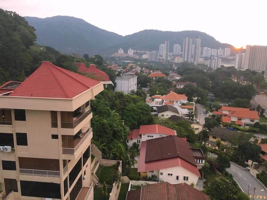 view of apartments for rent in Penang.