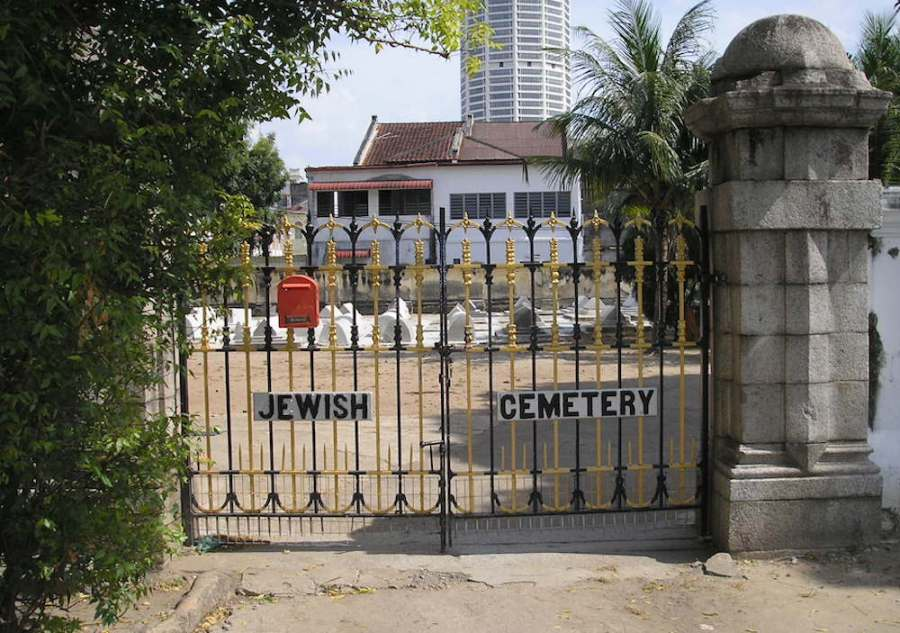 Jewish cemetery: unique places in penang