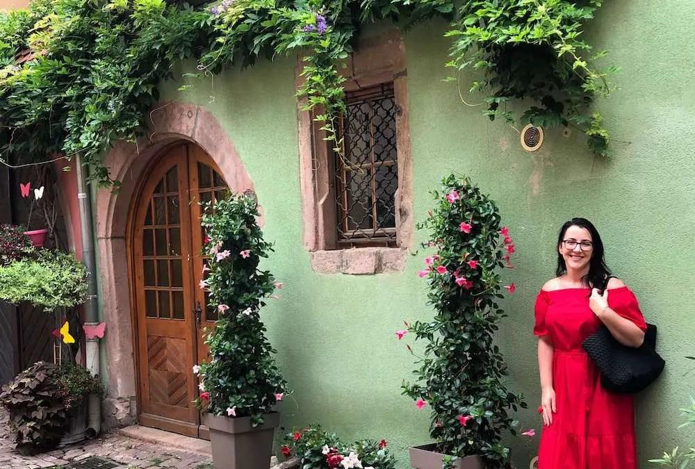 Carlie living in Strasbourg, France