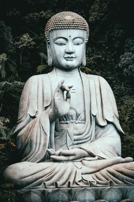 Statue of Buddha in Malaysia