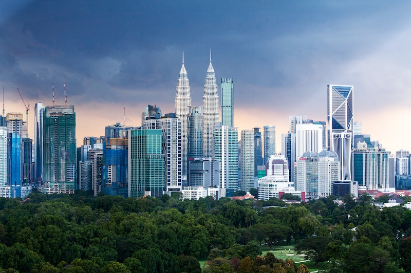 live in malaysia and see this kuala lumpur skyline daily