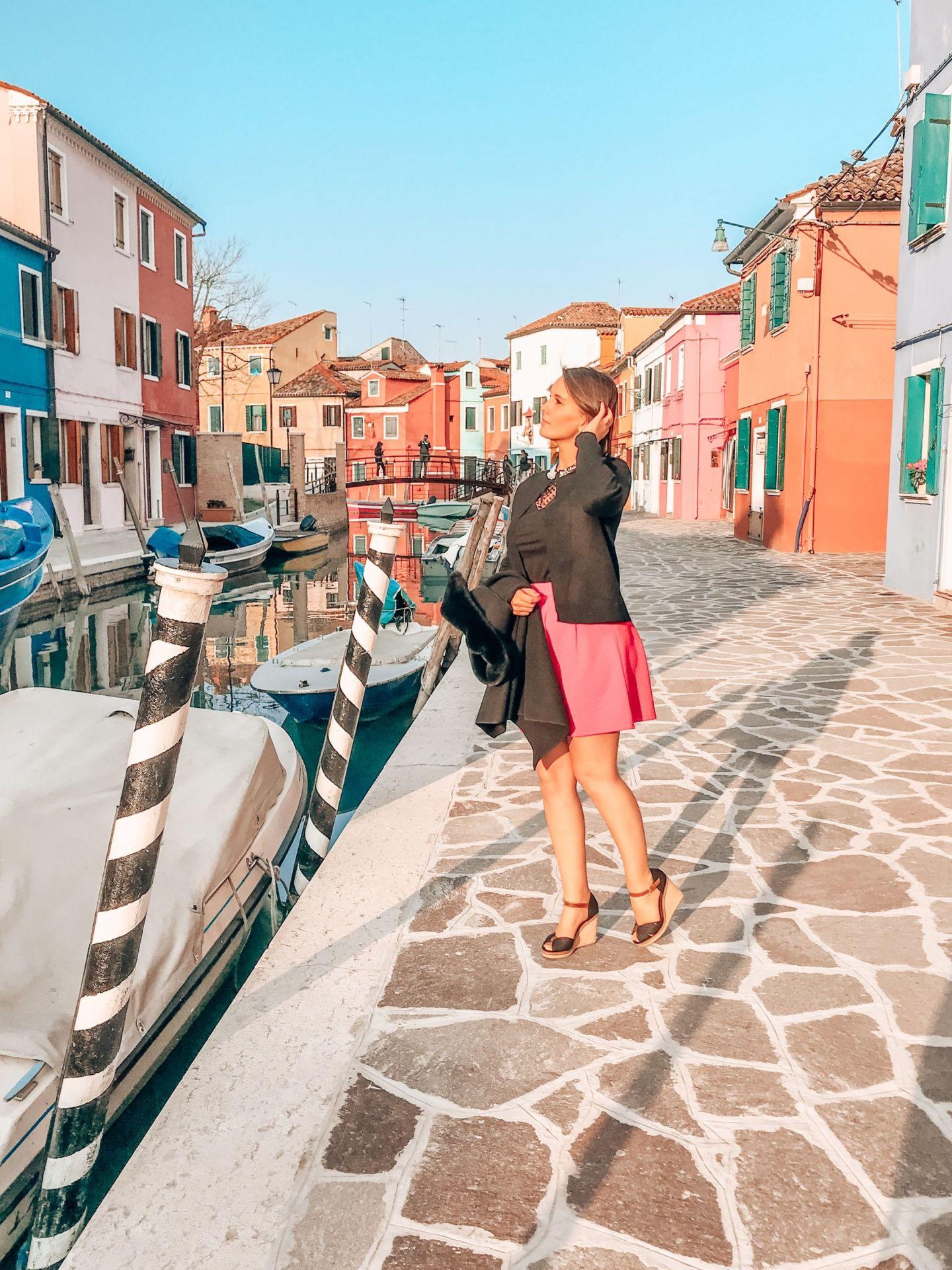 Burano Travel Blog Sandinourhands
