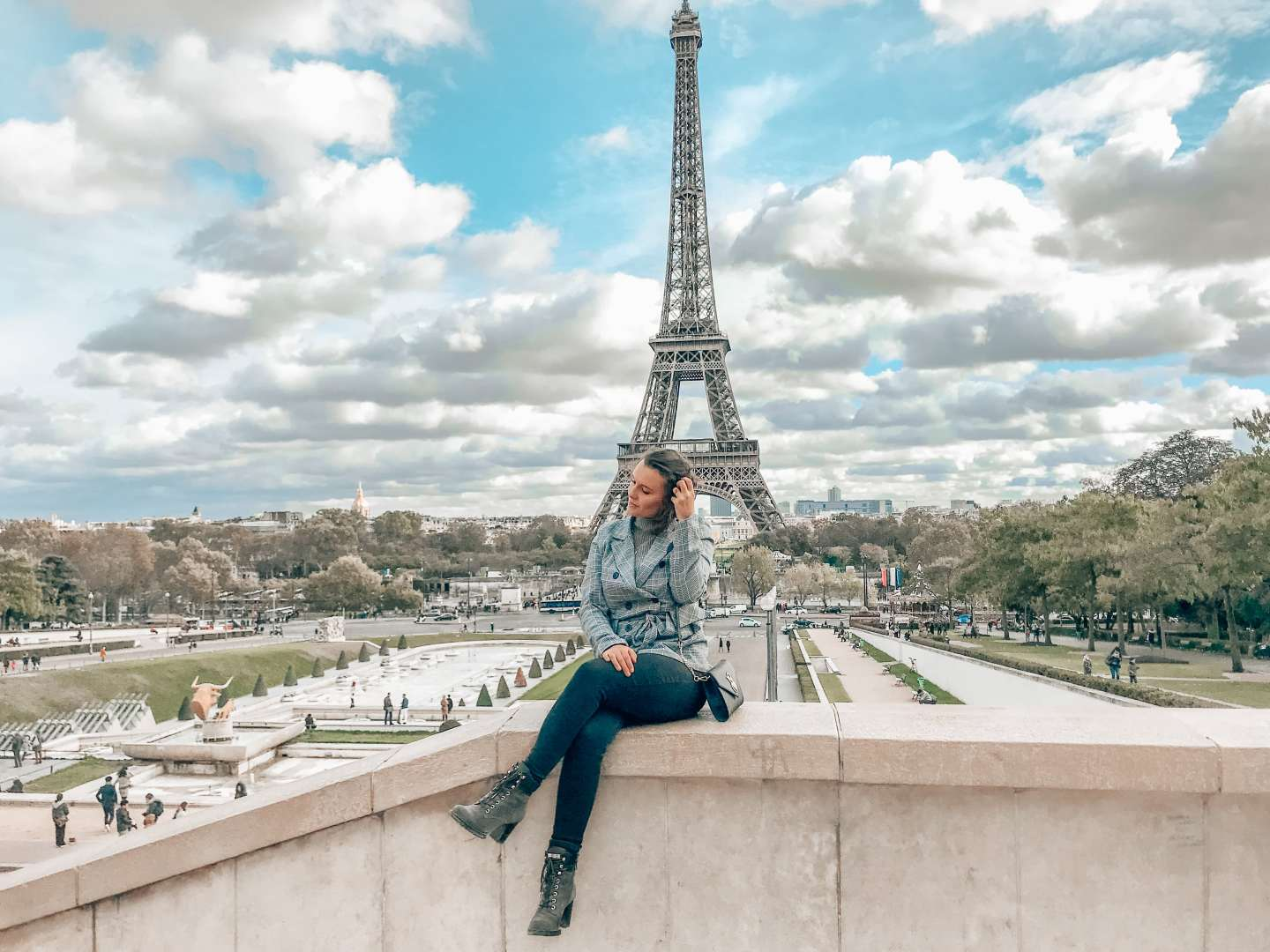 Eiffel Tower Instagram spots Paris