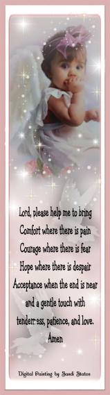 Sweet Angel Baby Nurses Prayer