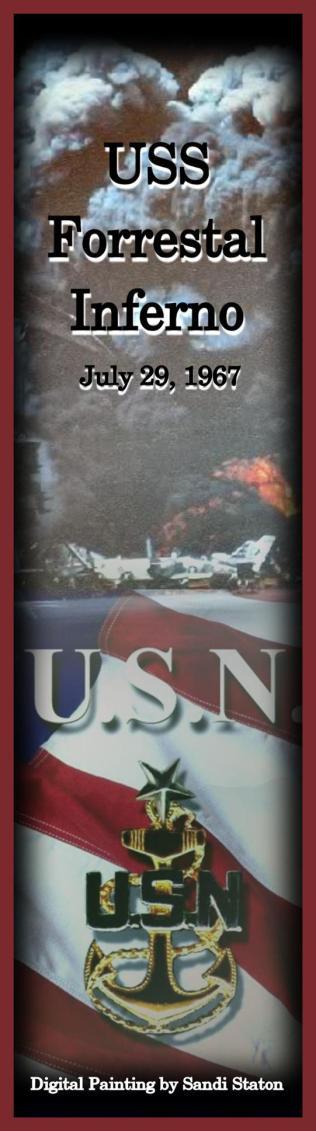 USS Forrestal Inferno