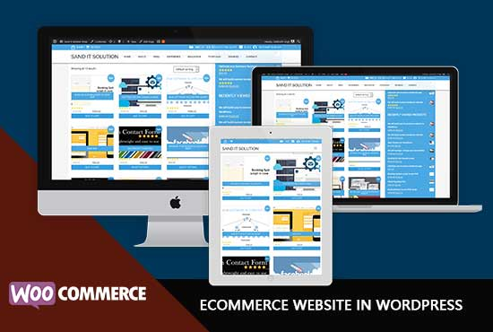 Sand It Solution will build Ecommerce website in WordPress