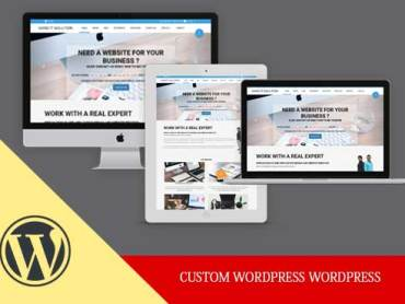 Sand It Solution will build custom wordpress website