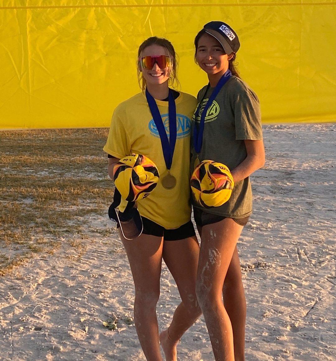 SSOVA Gold Winners - Kailey and Mia