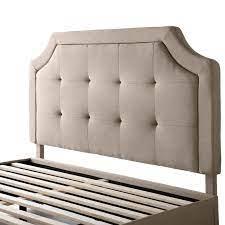 Malouf Carlisle Upholstered Headboard-Desert