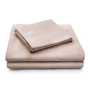 Woven Tencel Sheets-Ecru