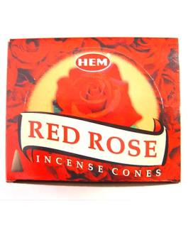CONES RED ROSE
