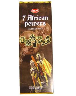 7 AFRICAN POWERS (7 Pouvoirs africains)