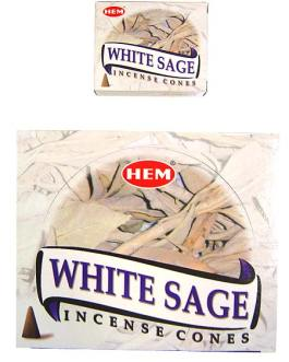CONES WHITE SAGE (Sauge Blanche)