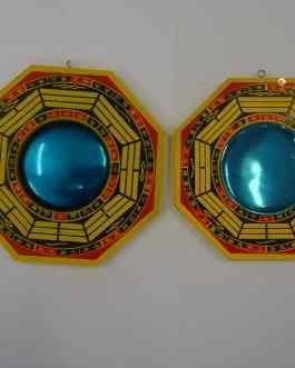 MIROIR PAKUA CONVEXE (3 Tailles) ou CONCAVE GM (à droite)