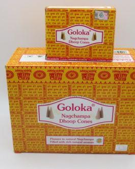 GOLOKA NAG CHAMPA CONES
