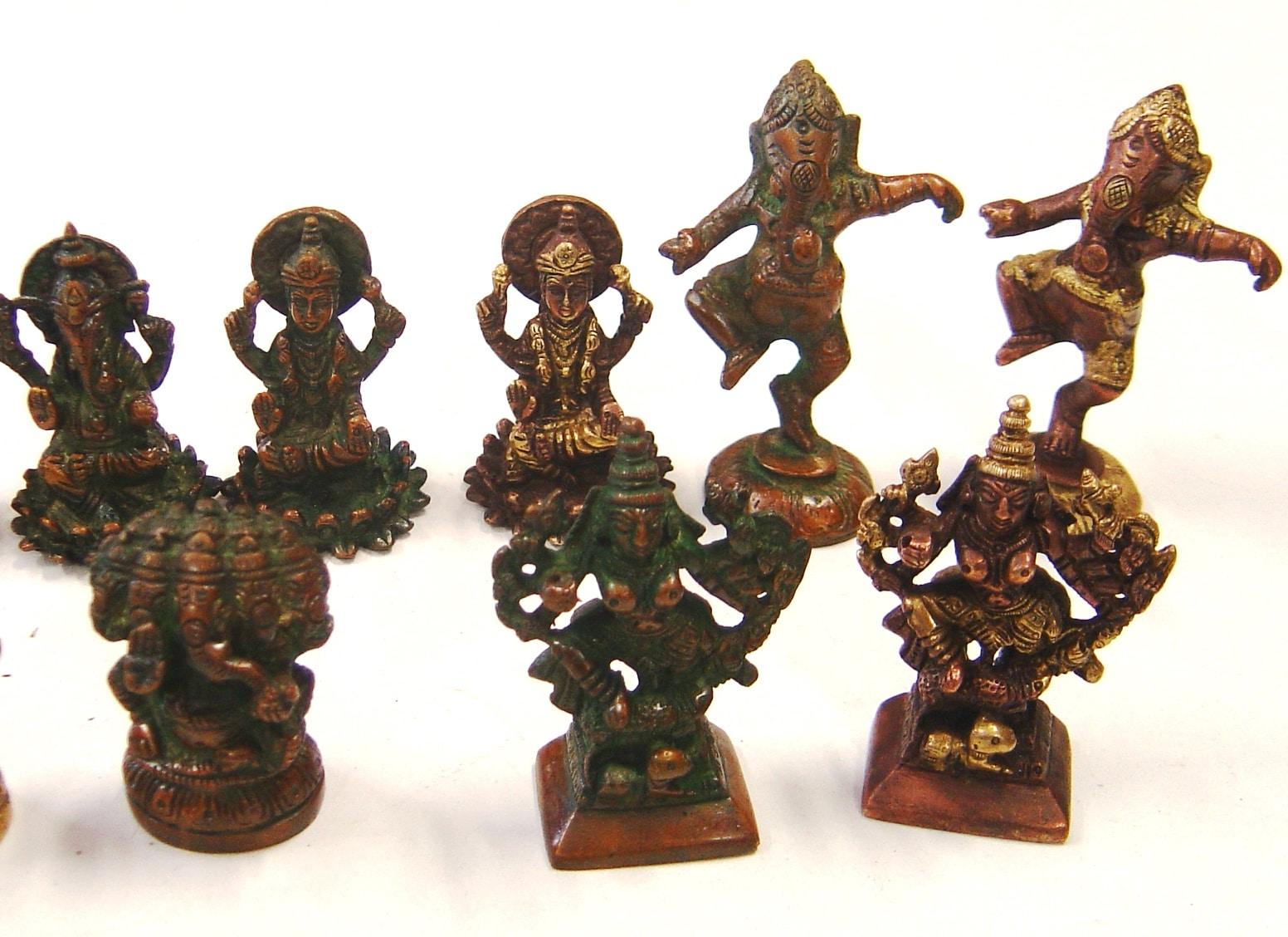 REF5 – STATUES Ganesh, Laxmi, Vishnou – (Ganesh dansant Fini)
