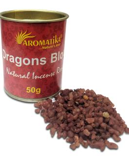 .AROMATIKA RESINE NATURELLE DRAGONS BLOOD (Sang des Dragons) 50g