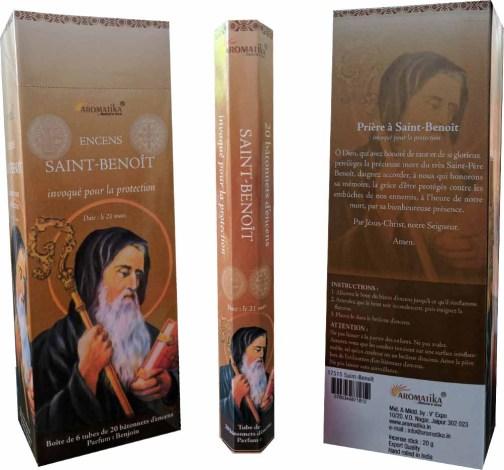 SAINT-BENOIT AROMATIKA  HEXA avec Prière