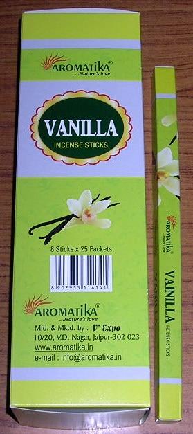 AROMATIKA VANILLA (Vanille) Square