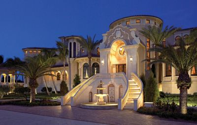 Traditional Mediterranean Palace Style Home Luxe