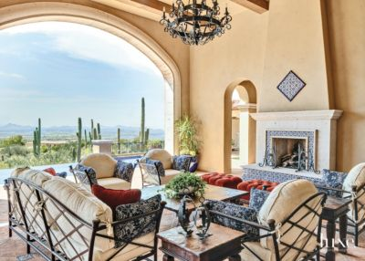 A Spanish Colonial Scottsdale Home with an Indoor Outdoor Connection     Spanish Colonial Scottsdale Home with an Indoor Outdoor Connection