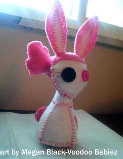 adorable hand-stitched felt voodoo dolls crafted with love