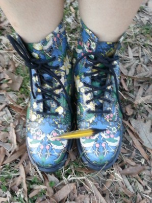 Dr. Martens + Liberty London 1460 Boots
