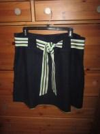lilly pulitzer navy skirt