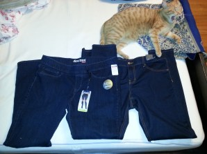 2 new pairs of skinny jeans