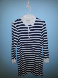 striped rugby tunic