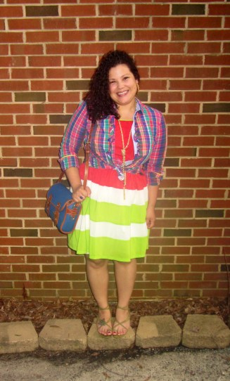 Mad About Plaid Thrift Style Thursday