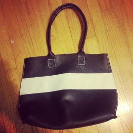 Mill & Bird Made in USA leather tote