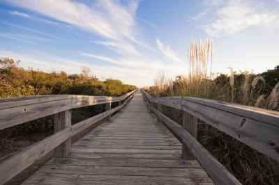 Sunset Beach Walkway