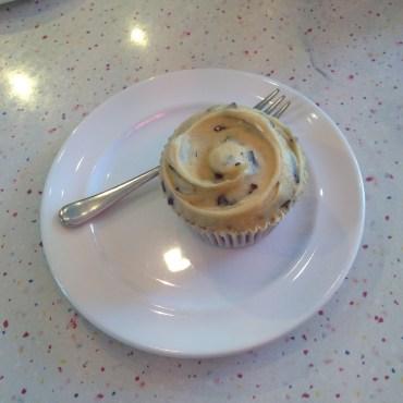 I had the cookie dough cupcake