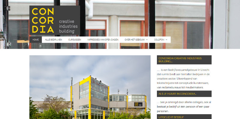 Website Concordiastraat 68