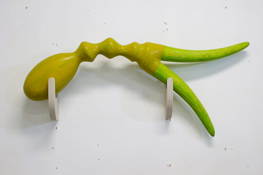 Creatuur met twee hoorns