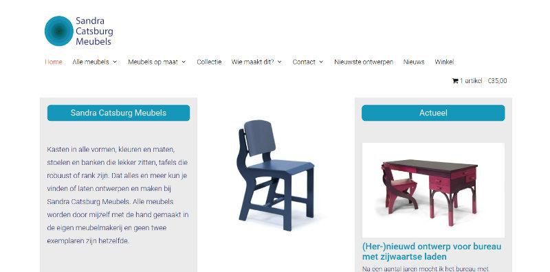Website Sandra Catsburg Meubels