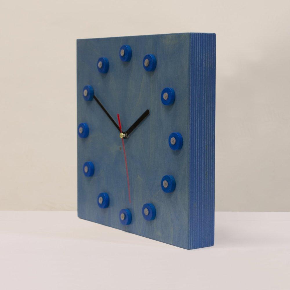 Klokje blauw multiplex