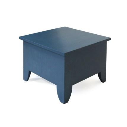 Salontafel met opbergruimte, blauw