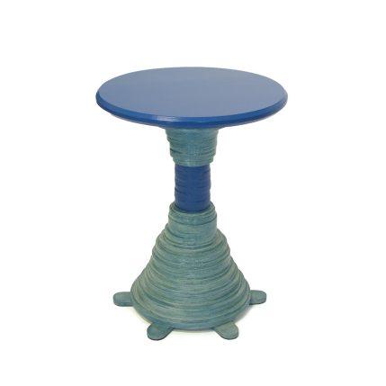 Blauwe stapeltafel
