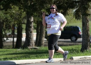 run, sport, bonheur, obèse, obésité, surpoids, maigrir, perdre du poid