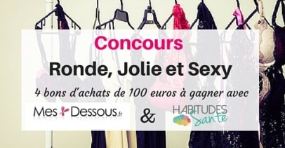ronde jolie sexy Concours