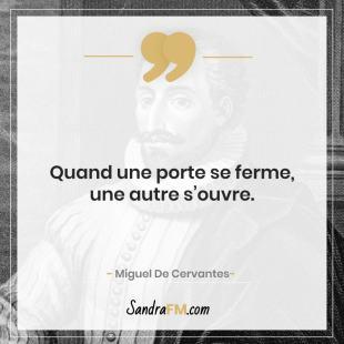 Je n'aime pas faire de sport comment faire Sandra FM image de soi Miguel De Cervantes