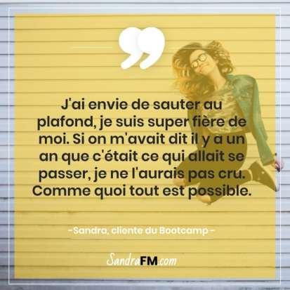 Libre de la fibromyalgie Sandra FM tout est possible