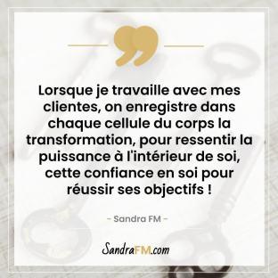 Fatigue et envie d'abandonner entrepreneure Sandra FM transormation puissance
