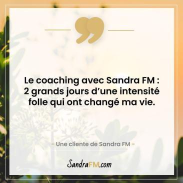 Témoignage entrepreneure épuisée j'avais envie d'abandonner Sandra FM coaching
