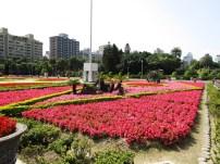wunderschöner Garten inmitten von Taipei