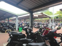Mopedparkplat